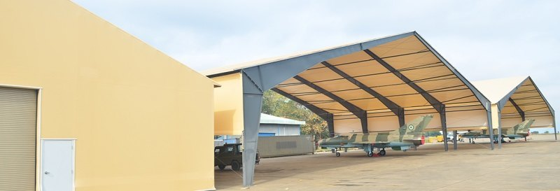 fabric-structure-military-shelter-open-end-walls-tension-membrane-roof_Canada