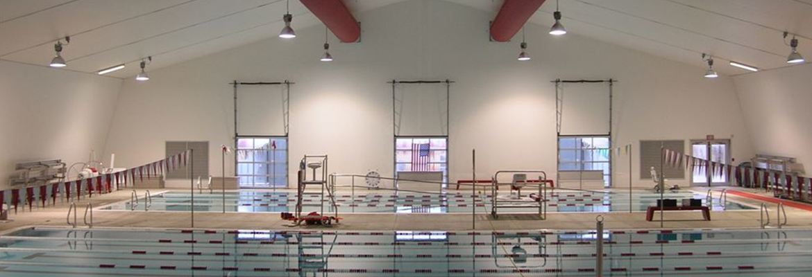 Fabric structure municipal pool enclosure