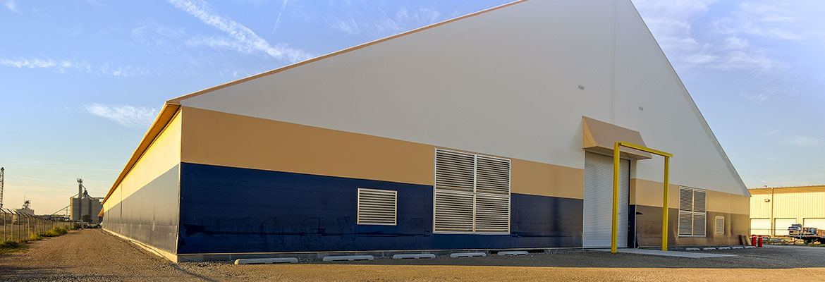 fabric structure port storage Canada