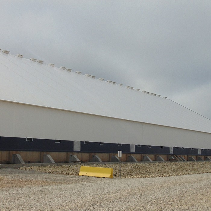 fabric structure side wall options