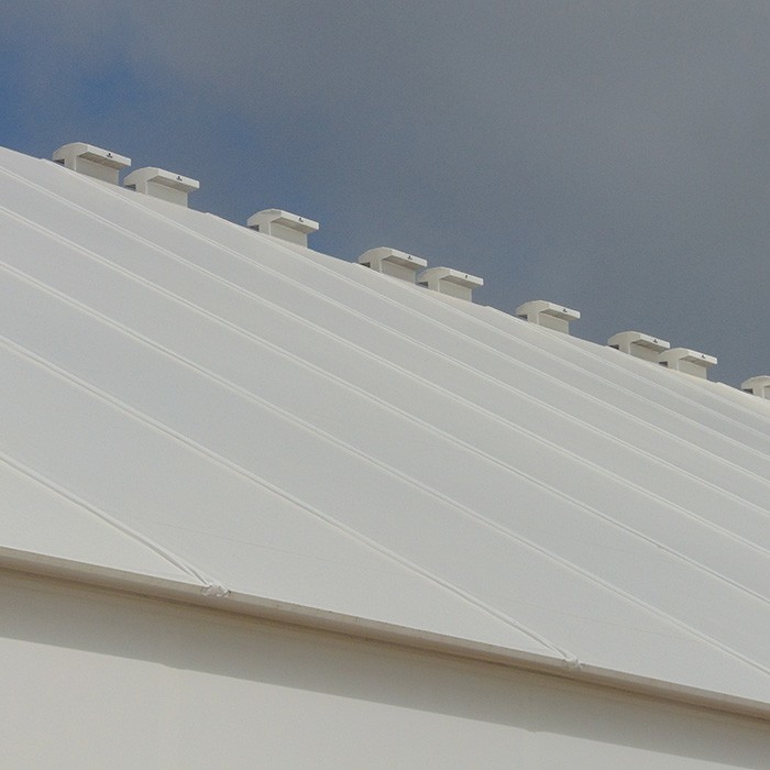 fabric structure vent options