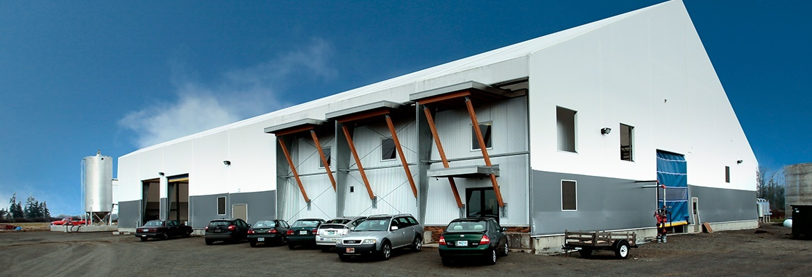 Fabric structure office building Canada