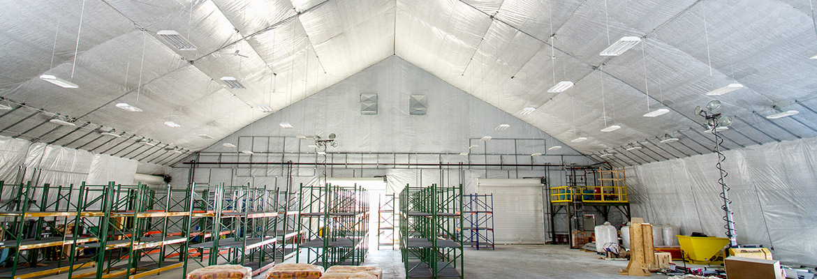 green energy fabric structure Manitoba Hydro